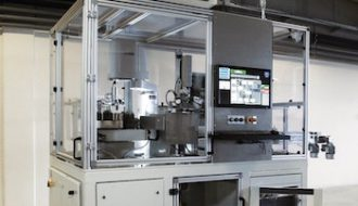 Masterprint Robot Cell – multilateral product labeling + 100% reliable verification